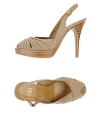 Stuart Weitzman | Natural Sandals | Lyst