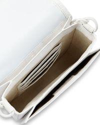 Nancy Gonzalez - White Embellished Small Crocodile Shoulder Bag  - Lyst