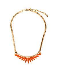 Henri Bendel | Orange Waldorf Delicate Choker | Lyst