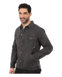 Woolrich - Black Dorrington Shirt Jacket for Men - Lyst