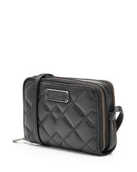 Marc By Marc Jacobs - Quilted Leather Shoulder Bag - Black - Lyst