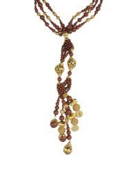 Blumarine | Brown Necklace | Lyst
