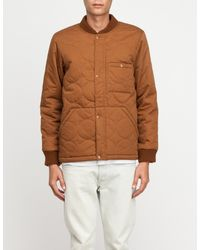 La Panoplie | Brown Blouson Coton Quilted for Men | Lyst