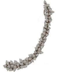 Ana Khouri - Metallic Diamond White Gold Mirian Ear Cuff - Lyst