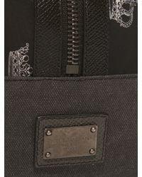 Dolce & Gabbana - Black Crown-print Washbag for Men - Lyst