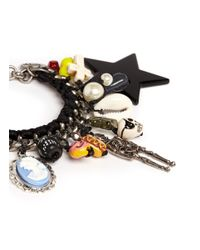 Venessa Arizaga - Multicolor 'charmed Memories' Bracelet - Lyst