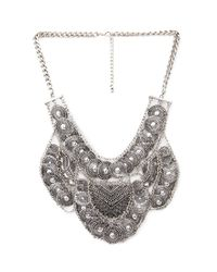 Forever 21 - Metallic Tribal-inspired Coin Necklace - Lyst