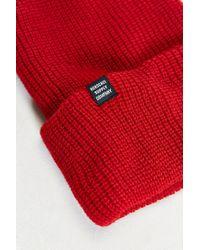 Herschel Supply Co. - Red Quartz Classic Beanie for Men - Lyst