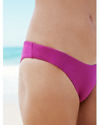 Free People | Purple Beach Riot X Womens High Cut Bottom | Lyst