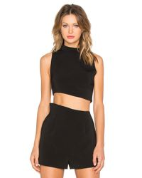 Keepsake - Black Rip Tide Top - Lyst