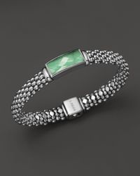 Lagos | Green Sterling Silver Maya Variscite Doublet Rope Bracelet | Lyst