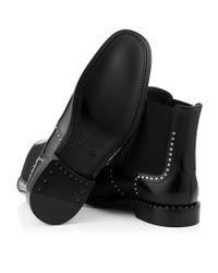 Jimmy Choo - Fergus Black Shiny Calf Leather Boots for Men - Lyst