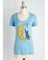 Headline Shirts   Blue Chat Luna-tique Tee   Lyst