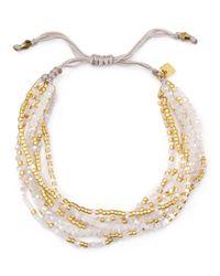 Chan Luu | White Multi Strand Bracelet | Lyst