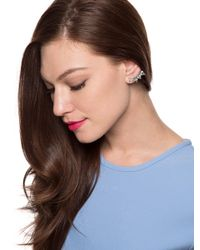 BaubleBar - Metallic Droplet Ear Cuffs - Lyst