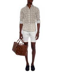 Richard James - Multicolor Butterfly-print Cotton Shirt for Men - Lyst