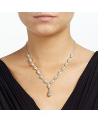 John Lewis - Natural Pearl Y Necklace - Lyst