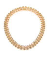 Adriana Orsini | Metallic Radiance Teardrop Necklace | Lyst