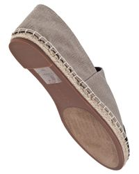 Steven by Steve Madden - Brown Ceciile Slip-on Taupe Fabric - Lyst