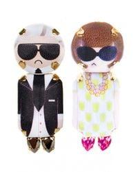 Bijoux De Famille | Multicolor Karl And Anna Pendant Earrings | Lyst