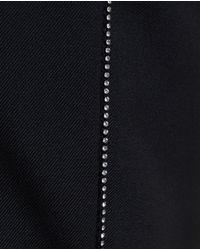 Saint Laurent - Black Crystal Embellished Trousers for Men - Lyst