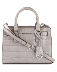 MICHAEL Michael Kors - Gray Small 'Dillon' Tote - Lyst