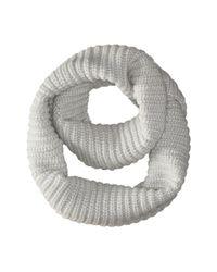 Calvin Klein | Metallic Fisherman Rib Infinity | Lyst