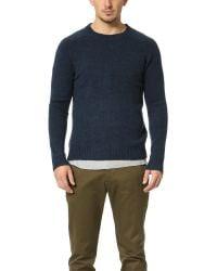 Gant Rugger   Blue The Shetland Sweater for Men   Lyst