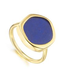 Monica Vinader - Blue Atlantis Gem Ring - Lyst