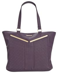 Rampage | Purple Quilted-detail Tote | Lyst