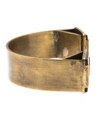 Beth Orduna | Metallic Polished Stone Bracelet | Lyst