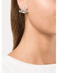 Vivienne Westwood - White 'Joyce' Earrings - Lyst