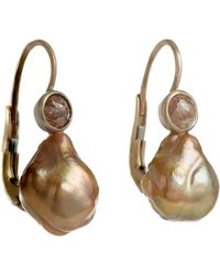 Anaconda - Metallic Drop Earrings - Lyst