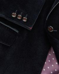 Ted Baker | Blue Velvet Blazer for Men | Lyst
