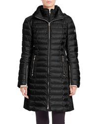 Bogner - Black Lilia Long Puffer Coat - Lyst