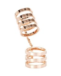 Repossi - Pink Berbere Cage Ring-Colorless - Lyst