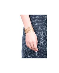 Gorjana | Metallic Jillian Cross Cuff | Lyst