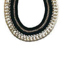 ALDO - Metallic Casabianca Thread Chain Necklace - Lyst