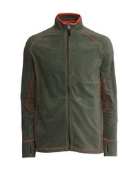 H&M - Green Fleece Jacket for Men - Lyst