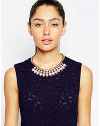 Ted Baker - Metallic Pear Drop Necklace - Lyst