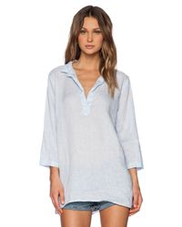 CP Shades | Blue Kendall Tunic | Lyst
