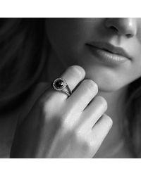 David Yurman | Metallic Cerise Ring With Pyrope Garnet And Diamonds | Lyst
