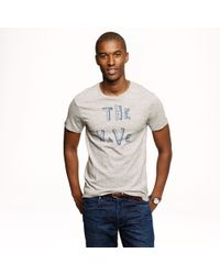 J.Crew - Natural Hugo Guinness For J Crew The Wave Tee for Men - Lyst