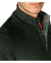 Napapijri | Green Zip Sweatshirt for Men | Lyst