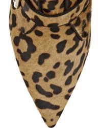 Tabitha Simmons - Multicolor Fitz Leopard-print Calf Hair Ankle Boots - Lyst