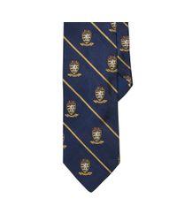 Polo Ralph Lauren - Blue Striped Silk Repp Club Tie for Men - Lyst