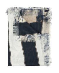 Pierre Louis Mascia - White Mixed-print Scarf - Lyst