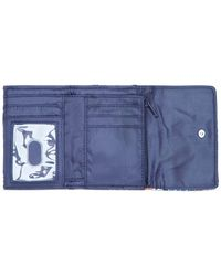 Vera Bradley | Blue Small Trifold Wallet | Lyst