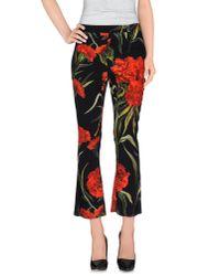 Dolce & Gabbana - Black Casual Trouser - Lyst