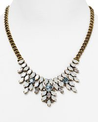 Sorrelli | Metallic Navette Collar Necklace, 17.5"